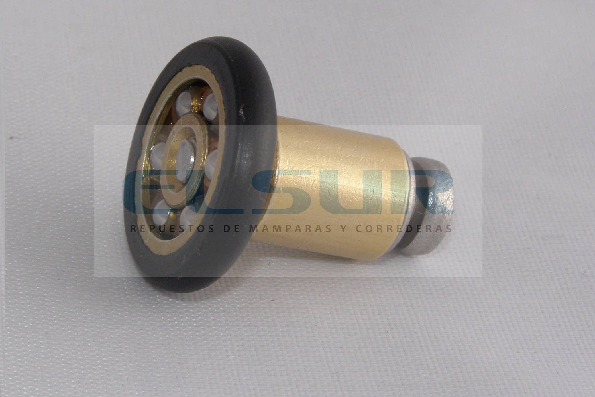 Frontal 20 mm bolas casquillo 12mm tornillo 4×20 inox