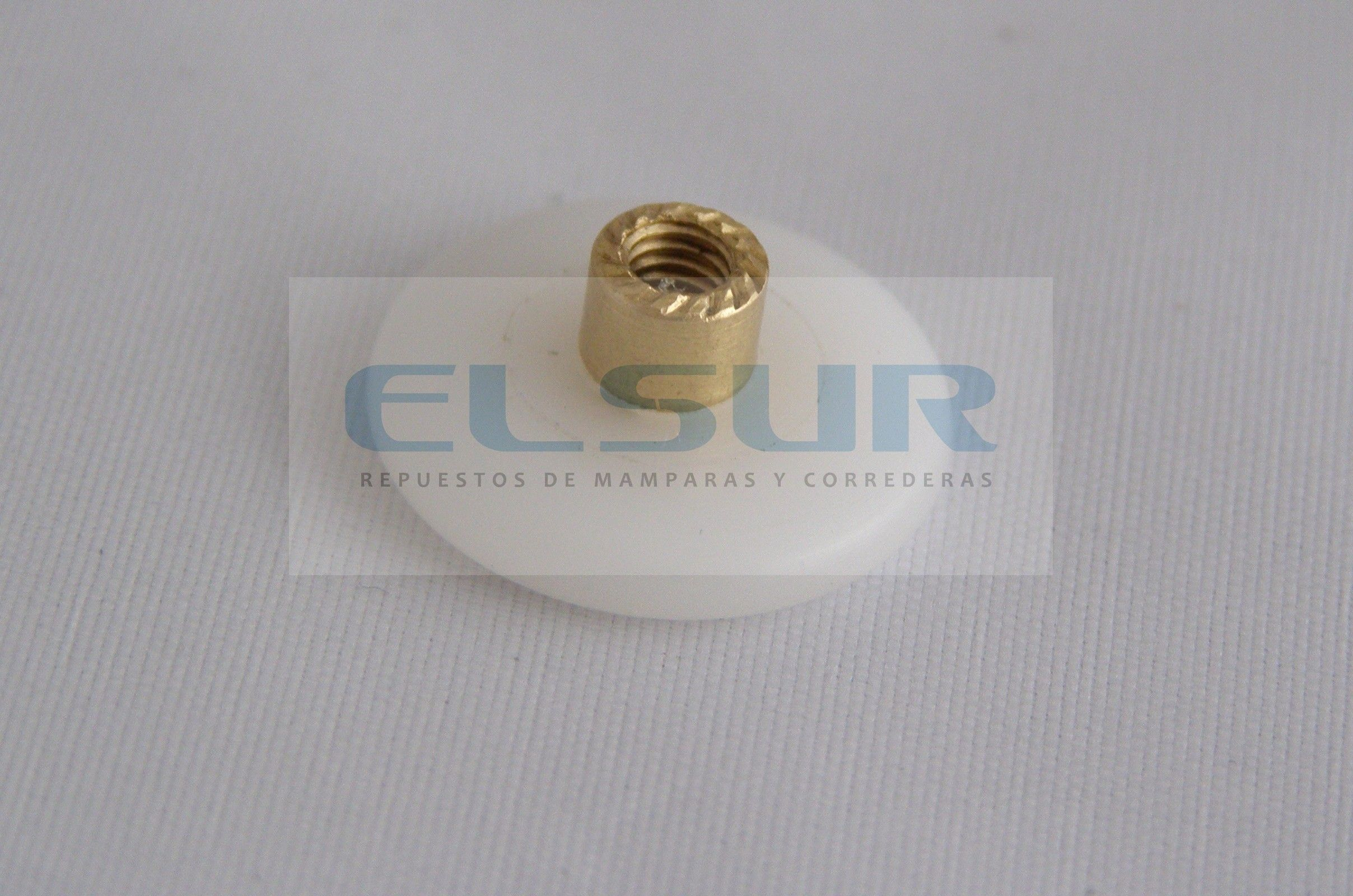 Plegable 20 mm nylon con tornillo métrica 4×8