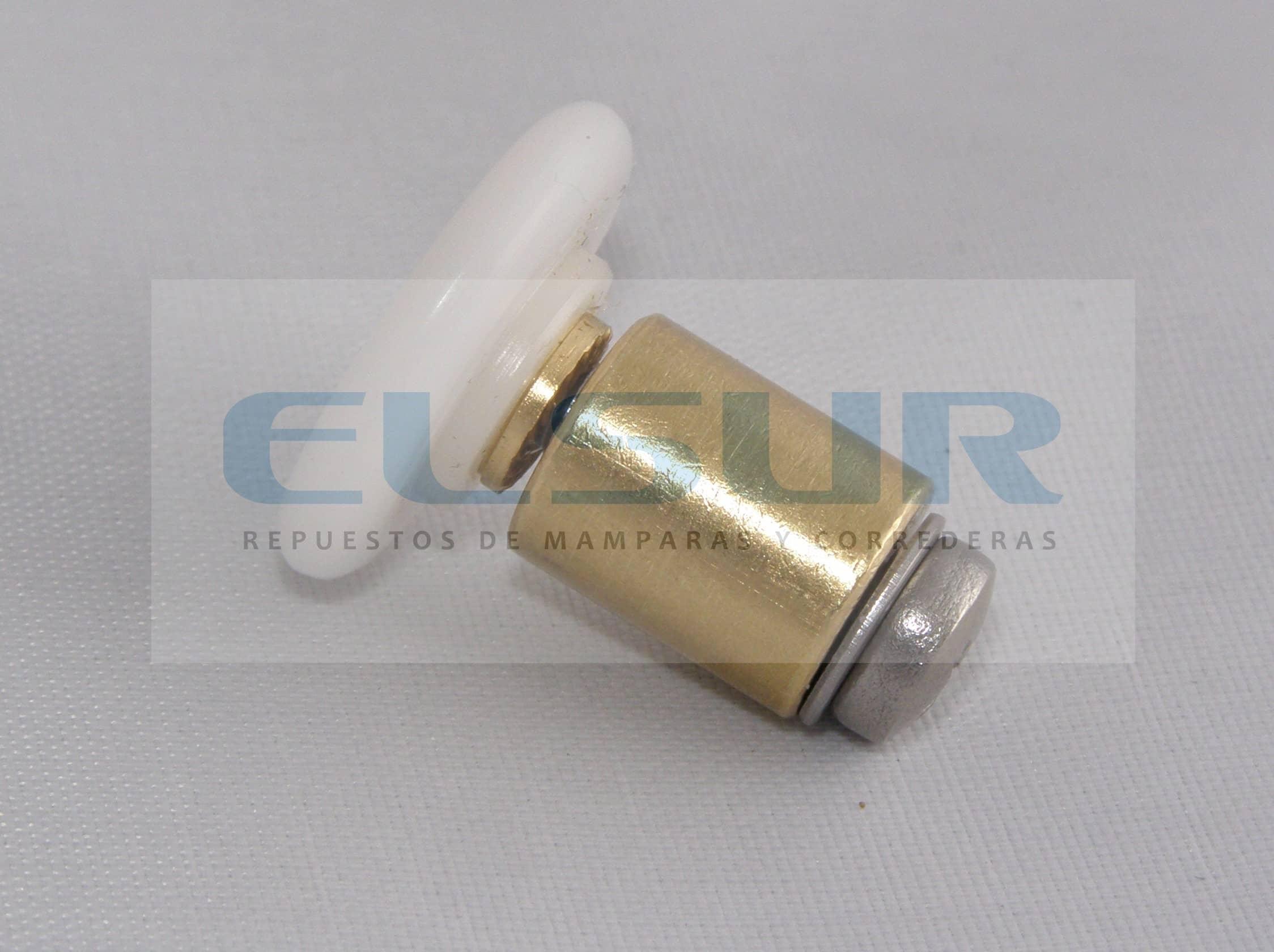Rodamiento frontal 20 mm nylon caquillo 12 mm