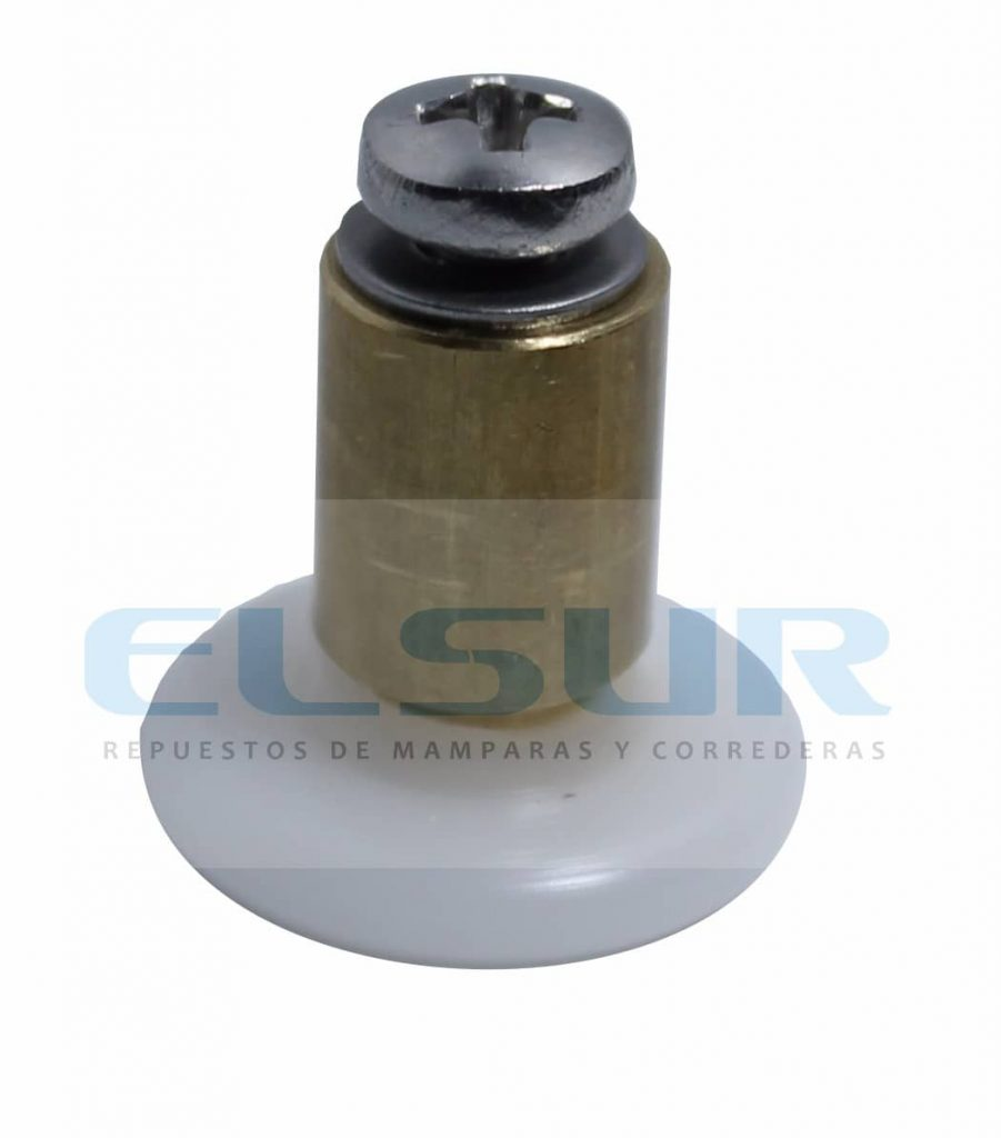 Rodamiento frontal 20 mm nylon casquillo 12 mm
