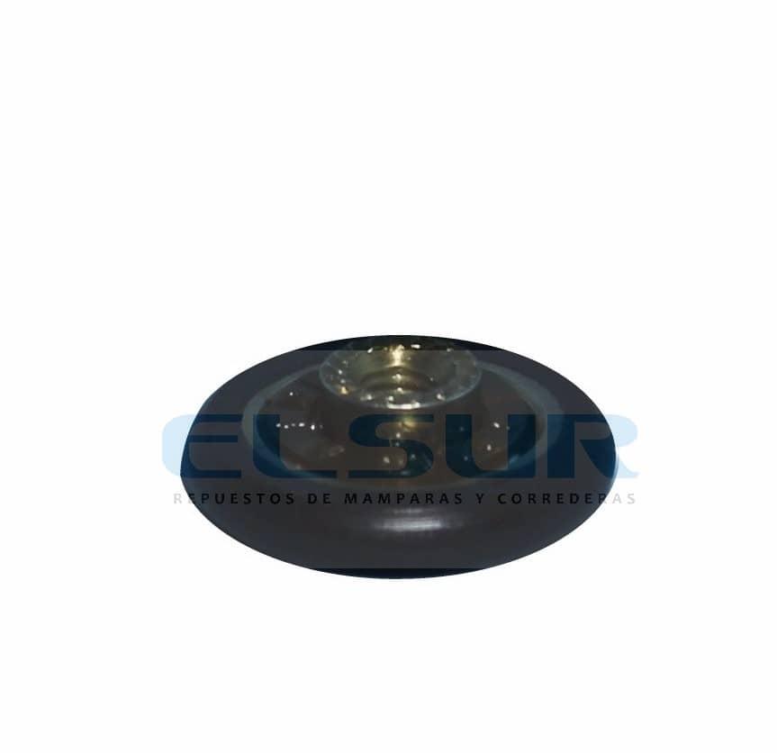 Rodamiento frontal 20mm bolas plegable con tornillo métrica 4×8