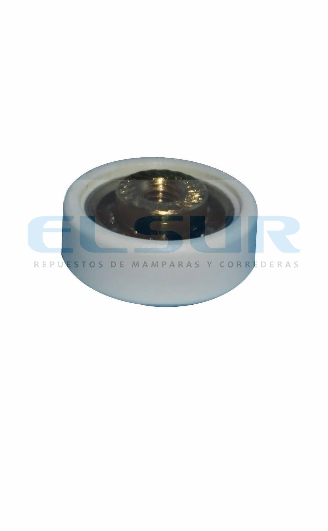 Rodamiento pista lisa 19 mm bolas grosor 6,8mm
