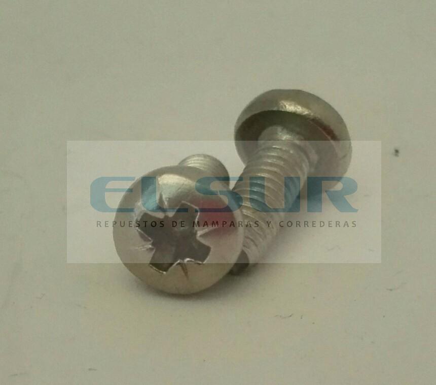 Tornillo 5×10 para rodamiento semicircular 24mm bolas