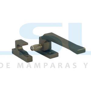 Cierre presión rodillo metálico derecha bronce (1 UNIDAD)