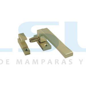 Cierre presión rodillo metálico derecha oro (1 UNIDAD)