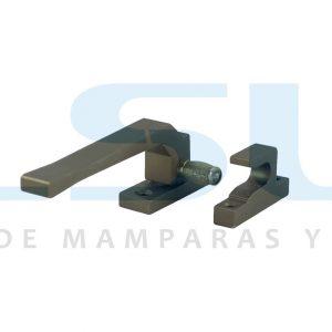 Cierre presión rodillo metálico izquierda bronce (1 UNIDAD)