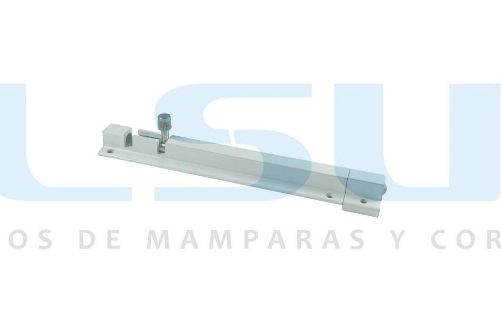 Pasador puente alto 150 mm aluminio blanco