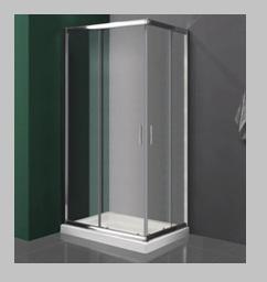 Mampara para ducha con marco completo