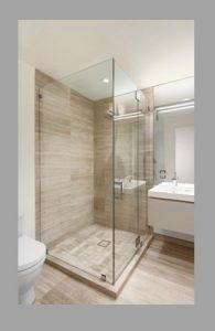 Mamparas para ducha sin marco