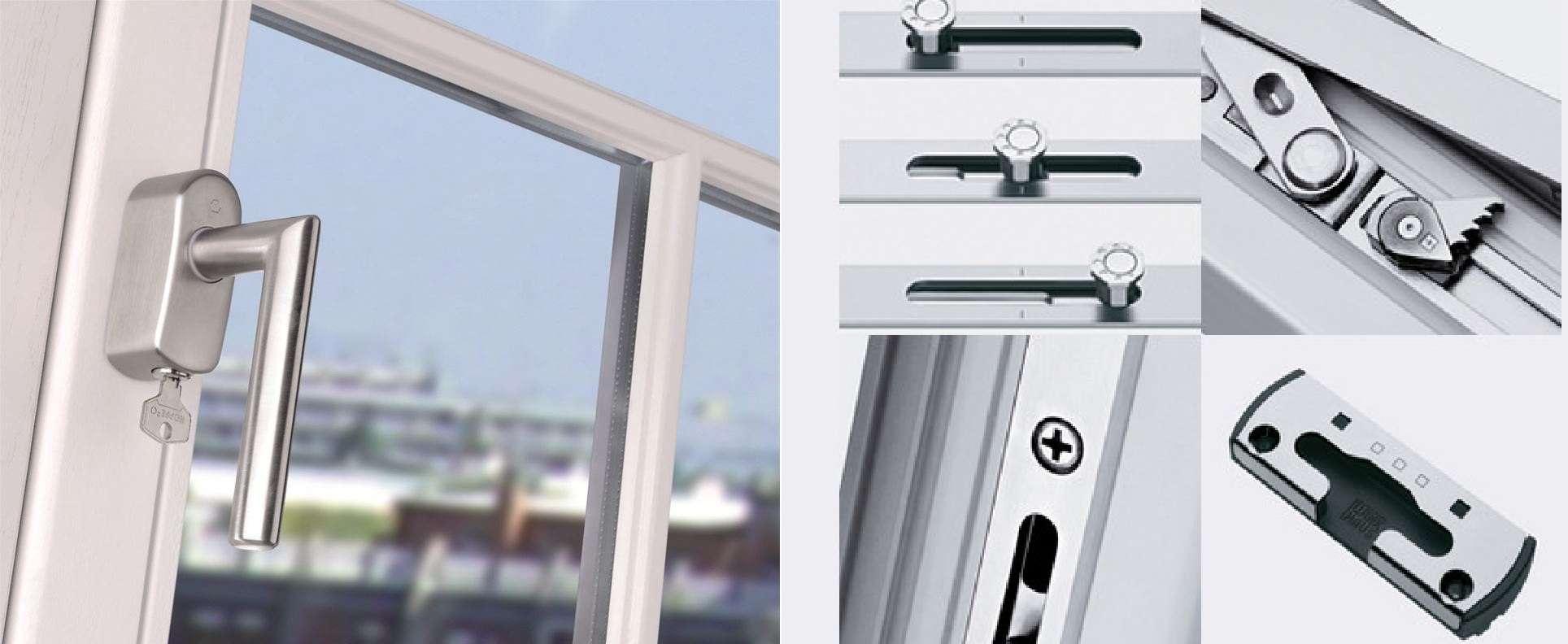 Tipos de cerraduras para ventanas - Repuestos El Sur