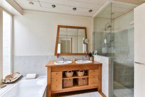 Cabina de baño