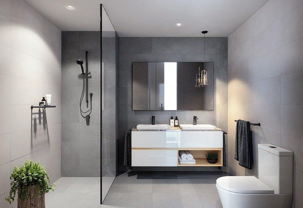 Trucos de diseño con mampara de ducha